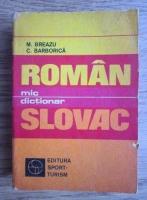 M. Breazu - Mic dictionar roman-slovac
