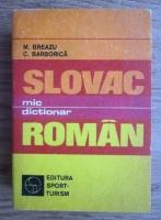 M. Breazu - Mic dictionar slovac-roman