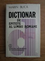 M. Buca - Dictionar de epitete ale limbii romane