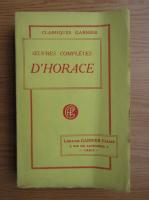 M. Felix Lemaistre - Oeuvres completes d'horace (1930)