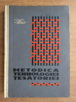 M. Frank - Metodica tehnologiei tesatoriei si a instruirii practice