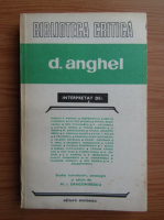 Anticariat: M. I. Dragomirescu - D. Anghel