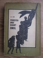 comperta: M. Ilin - Povestea unui gigant. Omul