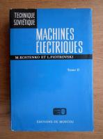 Anticariat: M. Kostenko - Machines electriques (volumul 2)