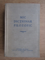 M. Rozental - Mic dictionar filozofic