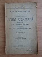 Anticariat: M. Rudinescu - Noua metoda practica pentru a invata cu inlesnire limba germana (1931)