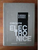 Anticariat: M. Savescu - Circuite electronice (volumul 3)