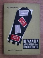 M. Simionescu - Depanarea aparatelor de radioreceptie