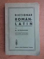 Anticariat: M. Staureanu - Dictionar roman-latin