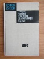 Anticariat: M. Y. Zaitchik - Problemes et exercices d'electrotechnique generale