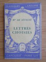Anticariat: Madame de Sevigne - Lettres choisies