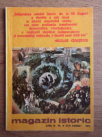 Anticariat: Magazin istoric, anul IX, nr. 8 (101), august 1975