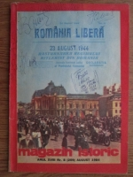 Anticariat: Magazin istoric, anul XVIII, nr. 8 (209), august 1984