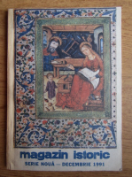 Anticariat: Magazin istoric, Anul XXV, Nr. 12 (297), decembrie 1991