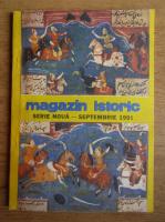Anticariat: Magazin istoric, Anul XXV, Nr. 9 (294), septembrie 1991
