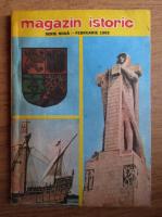 Magazin istoric, anul XXVI, nr. 2 (299), februarie 1992