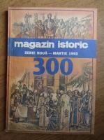Magazin istoric, anul XXVI, nr. 3 (300), martie 1992