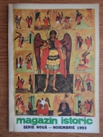 Anticariat: Magazin istoric, anul XXVII, nr. 11 (320), noiembrie 1993