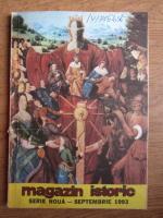 Magazin istoric, anul XXVII, nr. 9 (318), septembrie 1993