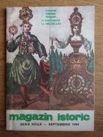 Magazin istoric, Anul XXVIII, Nr. 9 (330), septembrie 1994