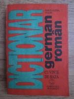 Anticariat: Magdalena Vulpe - Dictionar german-roman, cuvinte de baza