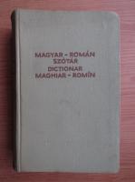 Anticariat: Magyar-roman szotar