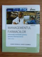 Anticariat: Managementul farmaciilor (volumul 1)
