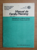 Anticariat: Manual de Family Planning