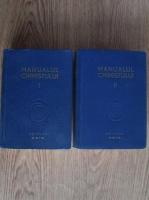 Anticariat: Manualul chimistului (2 volume, 1948)