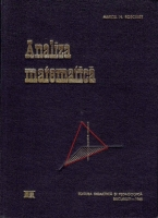 Anticariat: Marcel N. Rosculet - Analiza matematica (volumul 2)