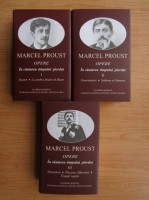 Marcel Proust - Opere. In cautarea timpului pierdut, 3 volume (Academia Romana)