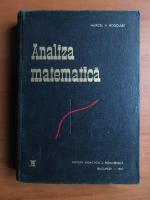 Marcel Rosculet - Analiza matematica (volumul 1)