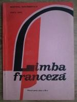 Anticariat: Marcel Saras - Limba franceza. Manual pentru clasa a XII-a