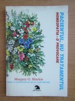 Anticariat: Margery Blackie - Pacientul, nu tratamentul. Homeopatia, o provocare