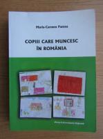 Anticariat: Maria-Carmen Pantea - Copiii care muncesc in Romania