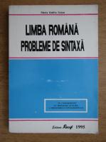 Anticariat: Maria Emilia Goian - Limba romana, probleme de sintaxa