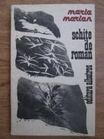 Anticariat: Maria Marian - Schite de roman