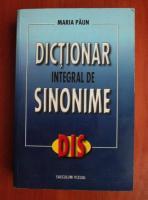 Maria Paun - Dictionar integral de sinonime
