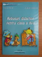 Anticariat: Maria Sferle - Rebusuri didactice pentru clasa a IV-a