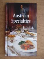 Anticariat: Maria Wiesmuller - Austrian specialties