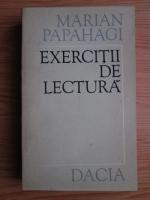 Marian Papahagi - Exercitii de lectura