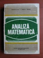 Mariana Craiu, Vasile Tanase - Analiza matematica