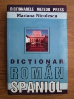 Anticariat: Mariana Niculescu - Dictionar roman-spaniol, spaniol-roman