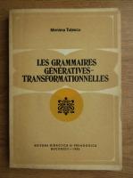 Anticariat: Mariana Tutescu - Les grammaires generatives-transformationnelles