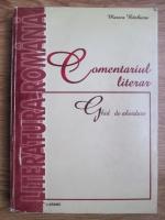 Marica Barbieru - Comentariul literar, ghid de abordare