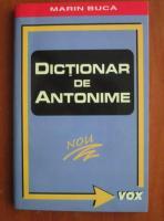 Marin Buca - Dictionar de antonime