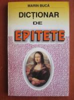 Marin Buca - Dictionar de epitete