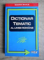 Marin Buca - Dictionar tematic al limbii romane