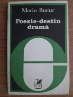 Anticariat: Marin Bucur - Poezii, destin, drama (Eseuri)