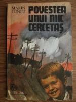 Anticariat: Marin Lungu - Povestea unui mic cercetas